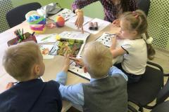 Занятия учеников начальной школы
